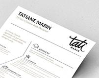 Curriculum - Tatiane Marin