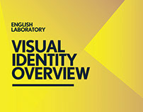 English Laboratory visiual identity