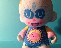 Cutie Pie - Hand Painted Toy