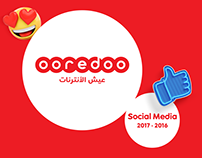 Ooredoo Social Media 2017-2016