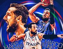 • Official FIBA social media graphics I •
