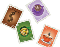 Stamp Series | 2D Design
