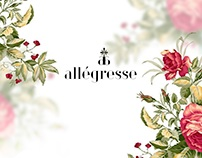 The web-site & logo for wedding decor