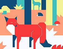 Animals booklet