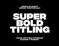 Integral CF | ultra bold typeface