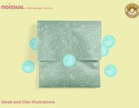 @sleekandchicillustrations x noissue Homepage - 04/13