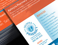 Palmyra Pharmacy Logo Design