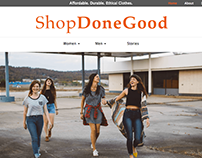 ShopDoneGood Website