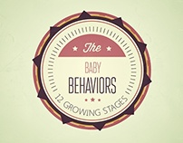 The Baby Behaviours:  12 GS (Posters and Cards)