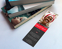 Remember Funeral Bookmark Word