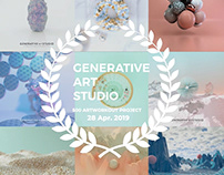 "GENERATIVE ART STUDIO ""ARTWORK400-500"""