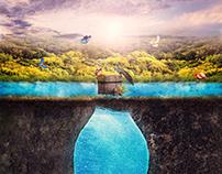 Nature Water Advertising