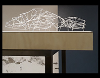Objeto Æ/#7. Wire sculpture. Proyect