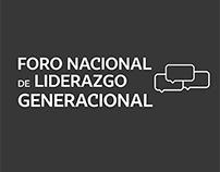 Fotografía   Foro Nacional de Liderazgo Generacional CR