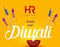 Happy Diwali from HR Creative Studio