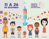 Governo de Goiás - Campanha de Multivacinação