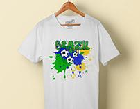Brazil T-shirt Design