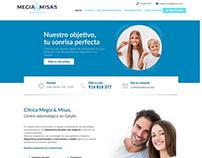 Diseño web · Clínica Dental Getafe