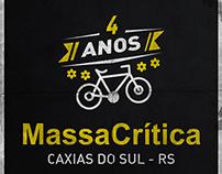 Selo 4 Anos MassaCrítica - Caxias do Sul