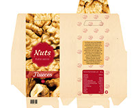 "Logo & Packaging de frutos secos ""NUTS"""