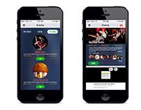 Stepathlon Moble App Screens