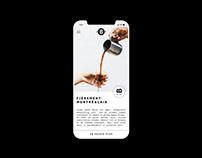 Barista Microtorréfacteur - Design UX/UI