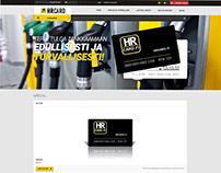 сайт для HR CARD