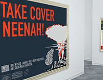 Take Cover Neenah! Exhibition Design