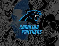 Black Panther x Carolina Panthers