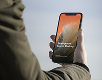 Phone Mockup Outdoor Scenes