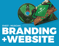 Enest - Branding, Package, Web site & Video.