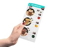 """Promo flyer design - """"MIG 21 cafe"""""""