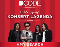 DCODE Konsert Lagenda