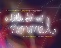 A Little Bit Not Normal Illustrated Poster (2015)