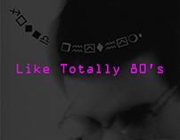 Like Totally 80's - MTV Promo (Found Rhythms)