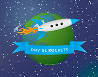 DNV GL Rockets board game