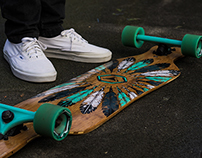 OXELO DROP LONGBOARDS