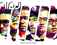 An Popo Art -  NIDJI in Wedha's Pop Art Potrait