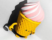 Ice Cream - Brain (Art Toy)