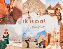 Rich Desert Lightroom Preset