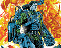 Edge of Tomorrow Screenprint