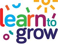 Diseño de Logotipo Learn to grow