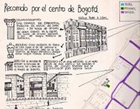 Recorrido por el centro de Bogotá. Ciclo báscio 2011-2