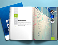 Layout and design for corporate manual
