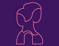 Logo for adolescent health education campaign