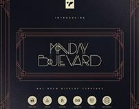 Monday Boulevard Typeface   Free Font Download