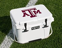Collegiate Logo Placement on Yeti Products