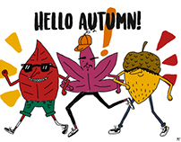 Cooleaves and the A-corn present: HELLO AUTUMN!