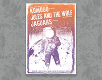 Jules & The Wolf at Vigo Gigposter