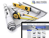 Web design for Сonstruction company